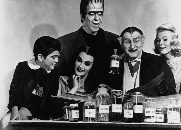 Although it was doing that job very well because the Munsters are FUCKING AWESOME.
