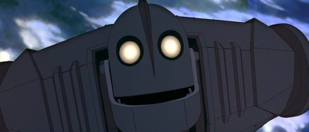 He's the Iron Giant's little brother, right?