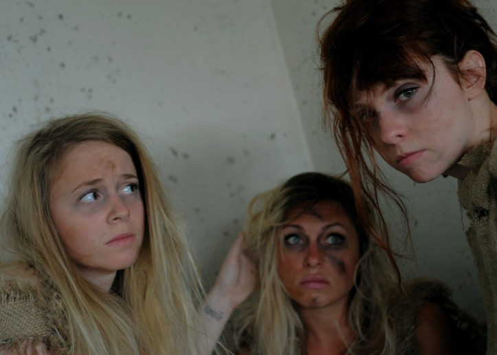Victoria, Holly and Tess in WHO WILL SEPARATE US?