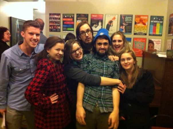 Closing Night at Sylvia...oddly fitting, I suppose. Alex, Kathryn, Ashley, Ben, Dania, Laura...it's been the best.