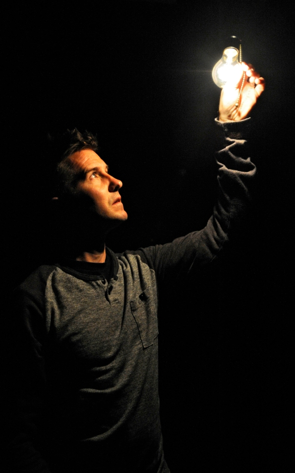 Brian Fidler in BROKEN from Ramshackle Theatre.