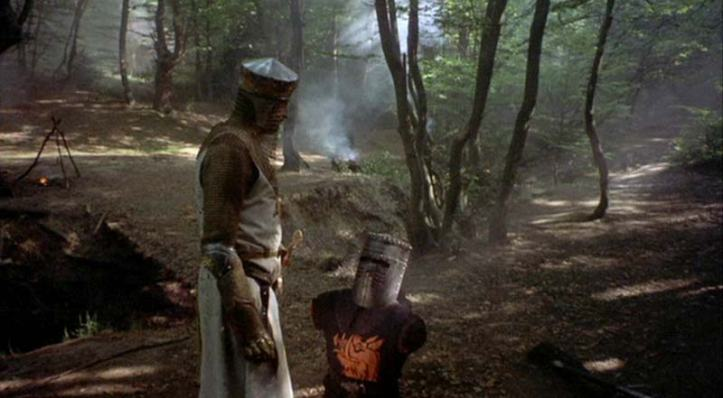 """It's just a flesh wound"", yes, yes, we all know."