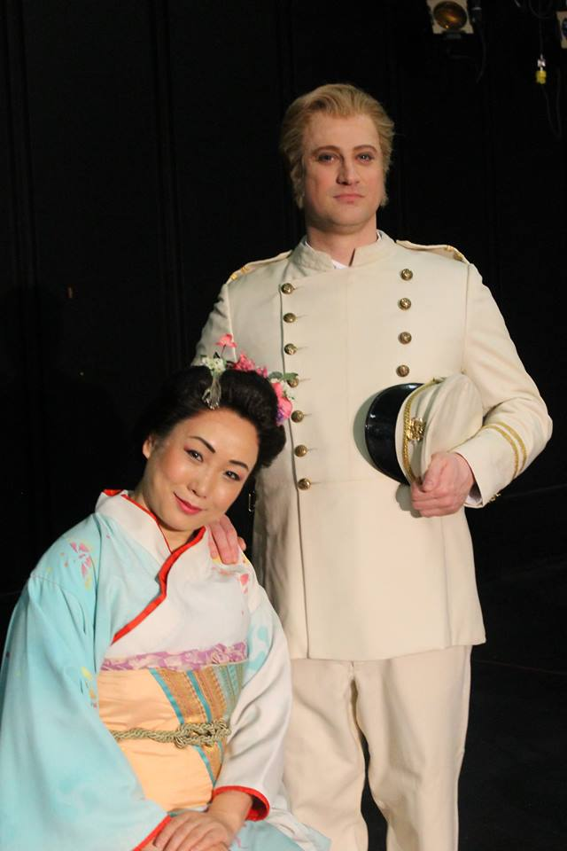 The 'Happy' ' Couple' ...Shuying Li and Antoine Belanger in MADAMA BUTTERFLY (pix by Kathryn 'Photography Mouse' Reeves)
