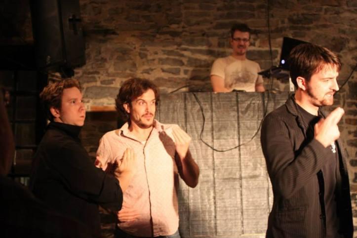 the Lads of GRIMprov (pic by Brigitte Aube-Harrison)
