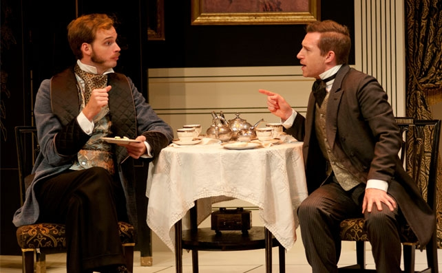 Alex McCooeye and Christopher Morris in THE IMPORTANCE OF BEING EARNEST.