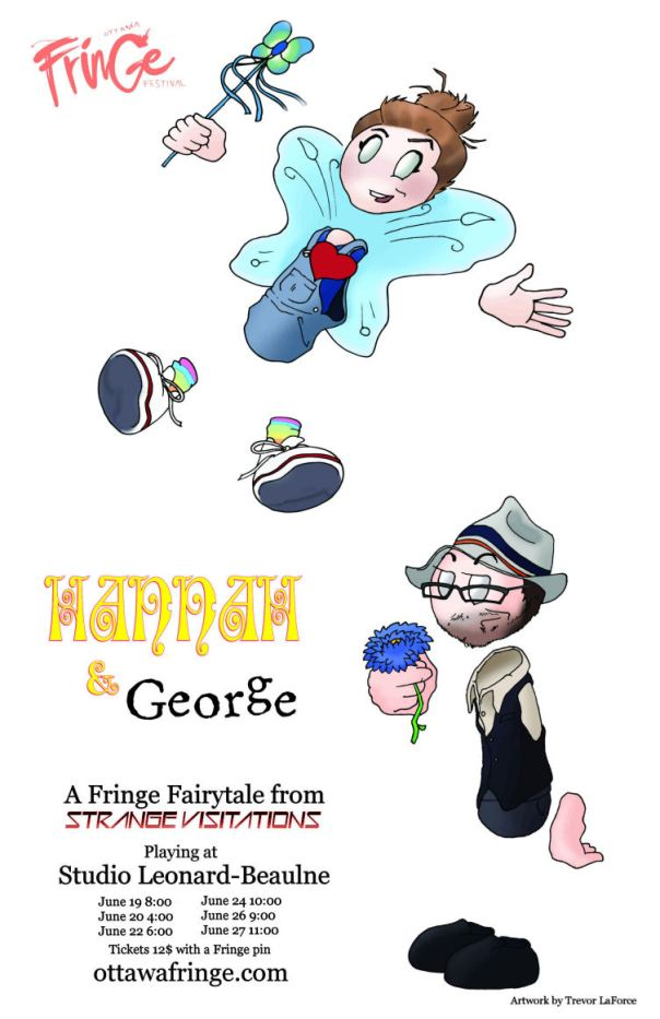 Poster artwork for Hannah & George by the incomparable TREVOR LAFORCE!