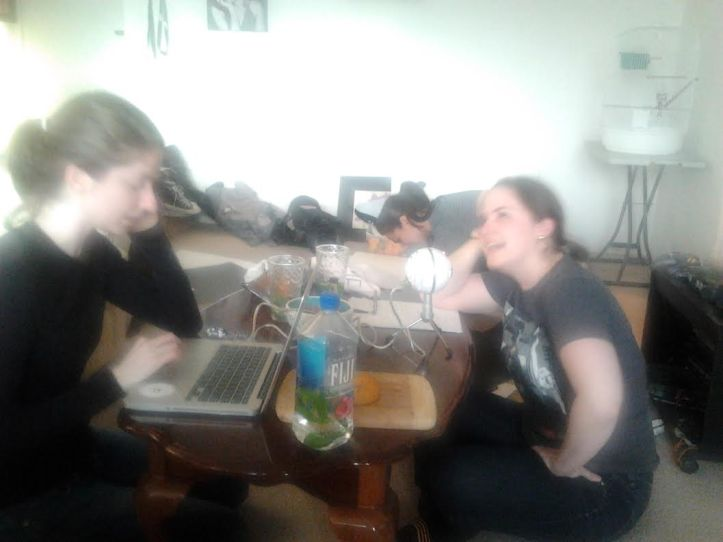 Blurry rehearsal shenaniganss!